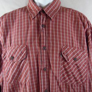Levi's Silvertab Long Sleeve Button Front Size XL